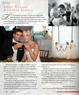 Wedding Hair & Makeup by LunaBella, Montecito Journal